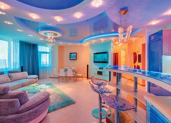 Дизайн интерьера квартиры в Крыму