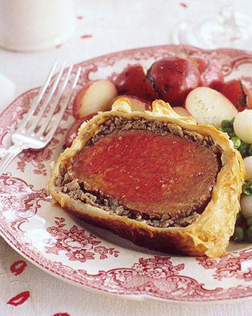 Beef Wellington - Martha Stewart Recipes from Martha Stewart Magazine Beef Wellington 101.  No fail magnificent recipe.