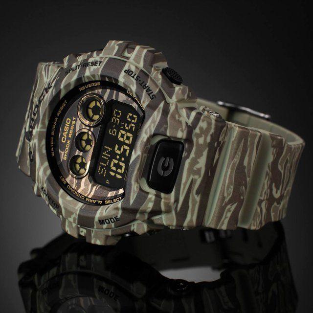 Casio G Shock Camo #casio #gshock #camo #kaki #montres #watches #menwatches http://www.timefy.com/fr/montres-hype/2056-montre-casio-g-shock-camo-kaki-gd-x6900cm-5er.html