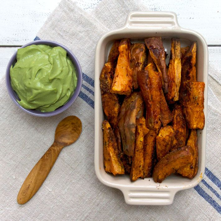 Sweet Potato Wedges via Deliciously Ella. These are SO simple and incredibly delicious.
