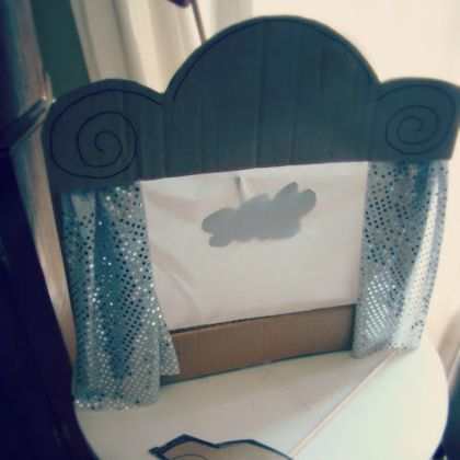 Shadow Puppet Theatre curtains
