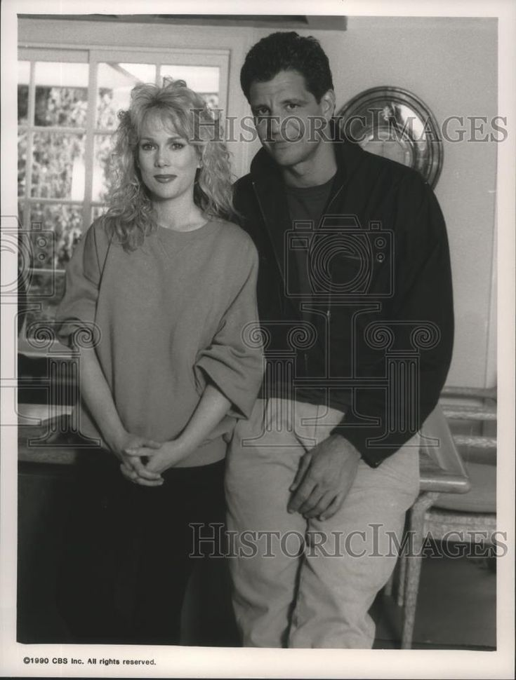 1993 Press Photo Julia Diffy and Ed Marinaro in Murder at the PTA Luncheon. - Historic Images