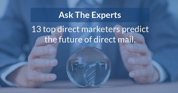 These direct marketing experts give you an insight into the future of direct mail, offering further clarification on its place in the marketing mix.
