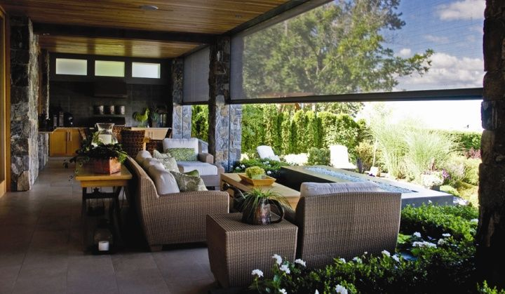 Motorized Retractable Screens For Porches, Patios And Lanais | Cabana, Slot  And Raising