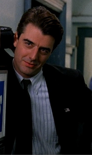 Chris Noth.  He`s representative of one of the New Yorker looks I like.  Playful, a bit silly, flirty, and very East Coast.