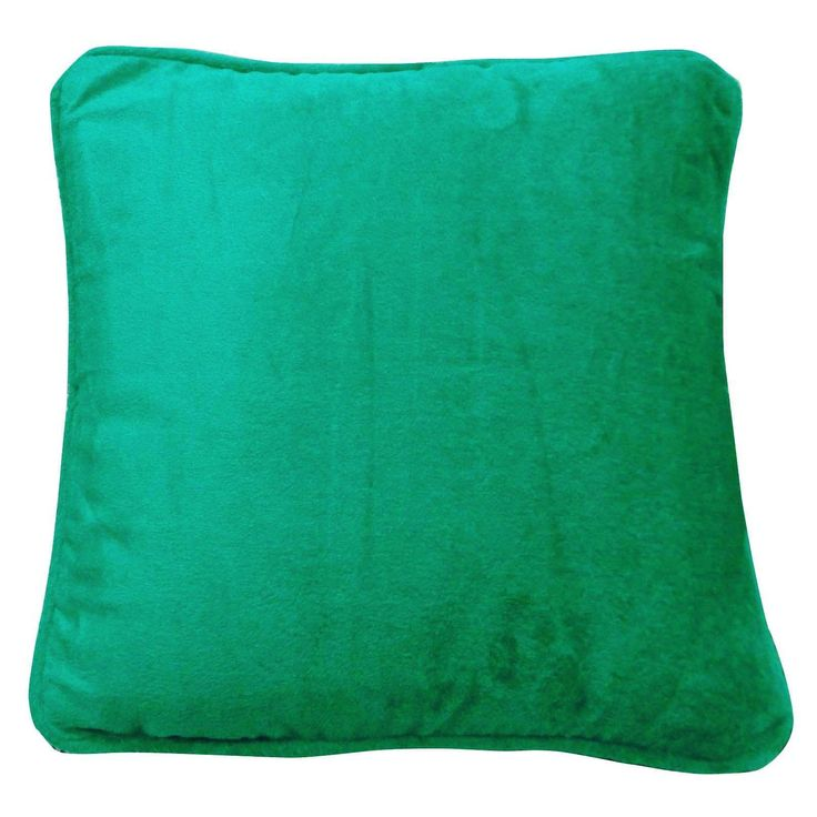 "Ethnic Green Cushion Cover Velvet Square Soft Pillow Case Throw 18""Pl17962"