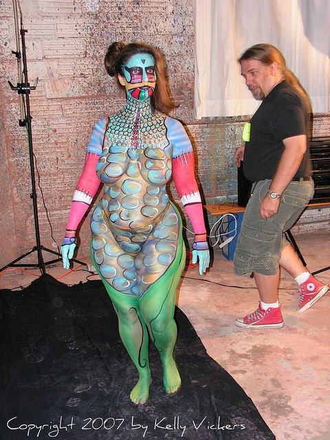 Fat girl body paint galleries