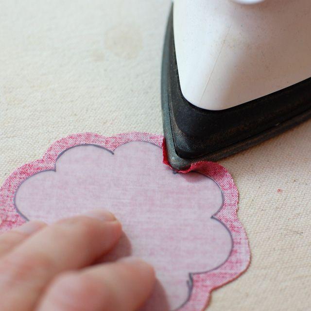 How to prepare oddly shaped applique