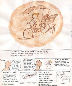 Peter Sis: 9 bike