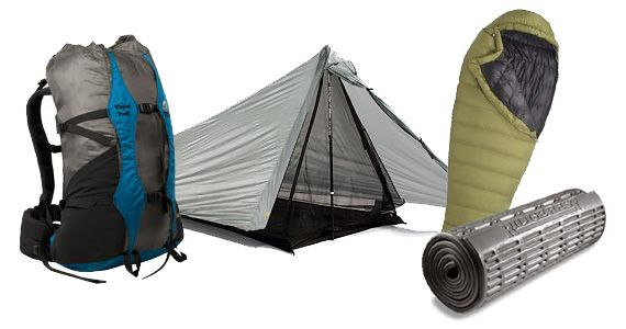 """The """"Big 3"""" Backpacking Gear Items 