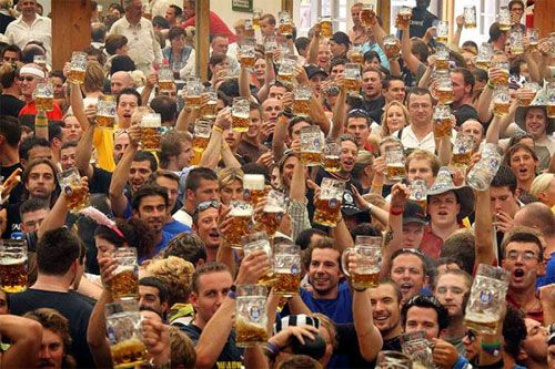Oktoberfest in Munich. Who wants to go with me? I do! That's the next city in Germany we plan to visit.
