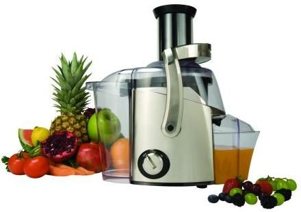 Fresh juice straight from the juicer!
