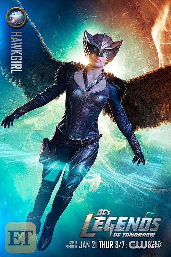 Meet DC's Hawkgirl from Legends of Tomorrow