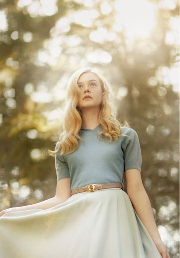 Fairy princess, Elle Fanning.<---I like that outfit.