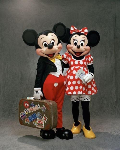 Minnie and Mickey