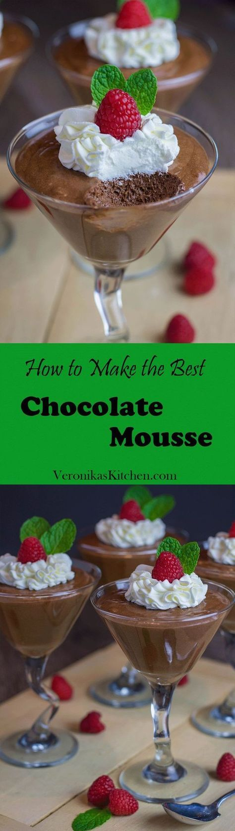 Do you want to become Julia Child for a day and make an incredible French chocolate mousse using her recipe? Now you have a chance, and trust me, this will be the best chocolate mousse you've tried in your life!