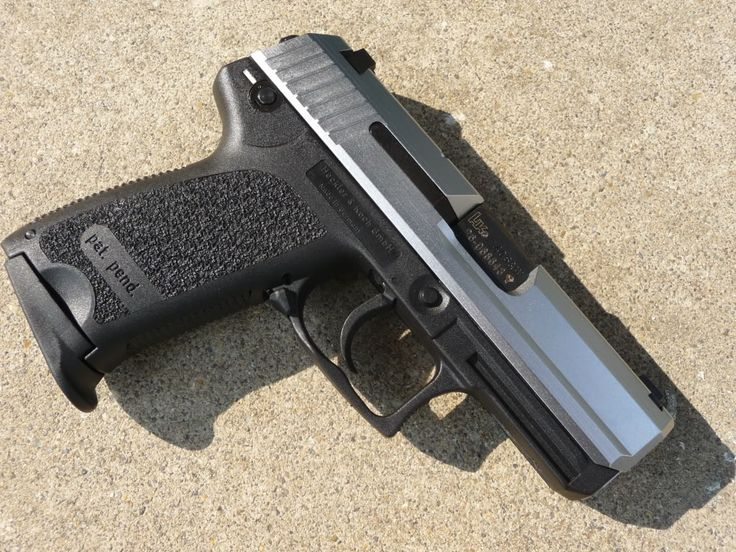 HK USP Compact Stainless #2 Find our speedloader now! http://www.amazon.com/shops/raeind