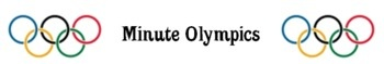 Olympic math minute games