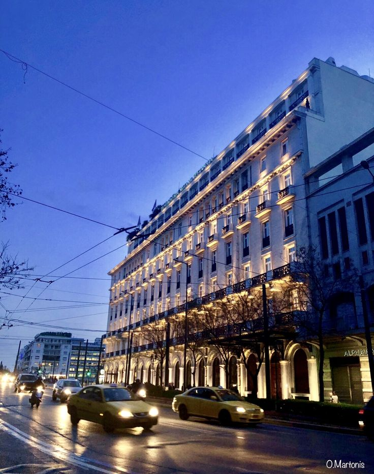 Grande Bretagne Hotel,Syntagma,Athens,Greece