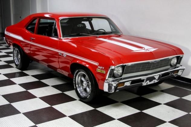 1970 Chevy Nova 427 baby. You tho ght your car was fast, wait till you take a ride in this baby. Unless u own a amazing car