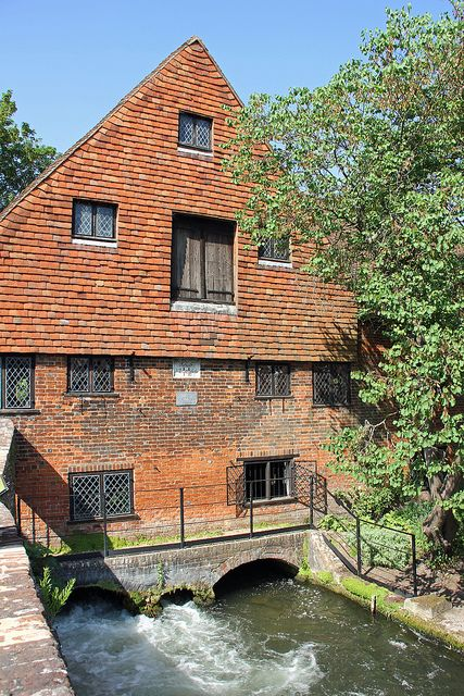 The Itchen and Winchester City Mill, In Winchester, England | Flickr , Lizzie927