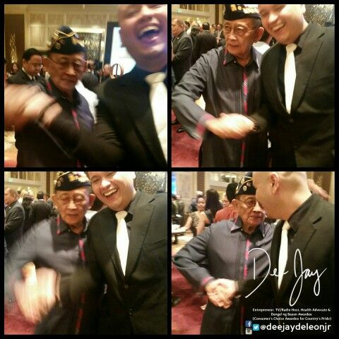 Dinner with Fidel Ramos