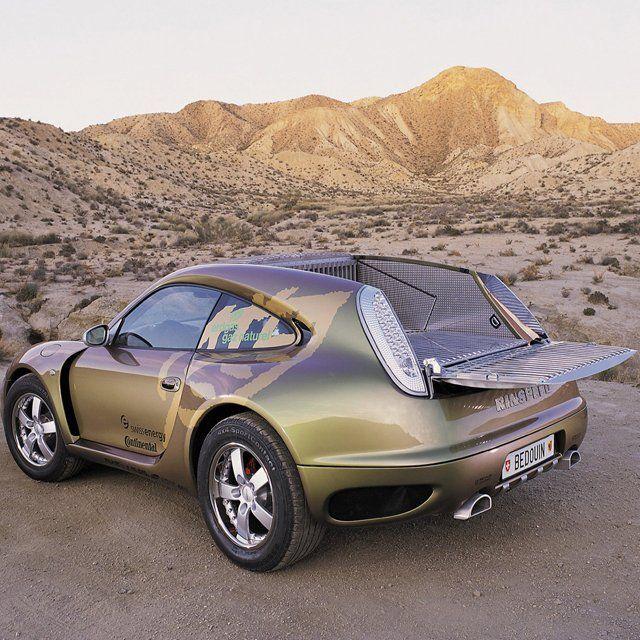 Fancy - Bedouin Porsche 996 Turbo by Rinspeed-- weird, but I kinda like it