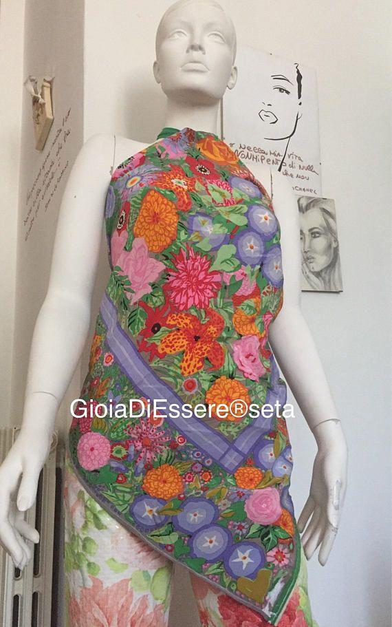 Top foulard Halter