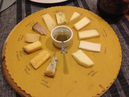 In Piazzetta (small cafe, meat and cheese plates) - Asiago