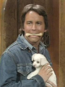 Jack Tripper.....Three's Company <3 -  When I was a little girl I told myself I was going to marry him when I grew up. Loved him!