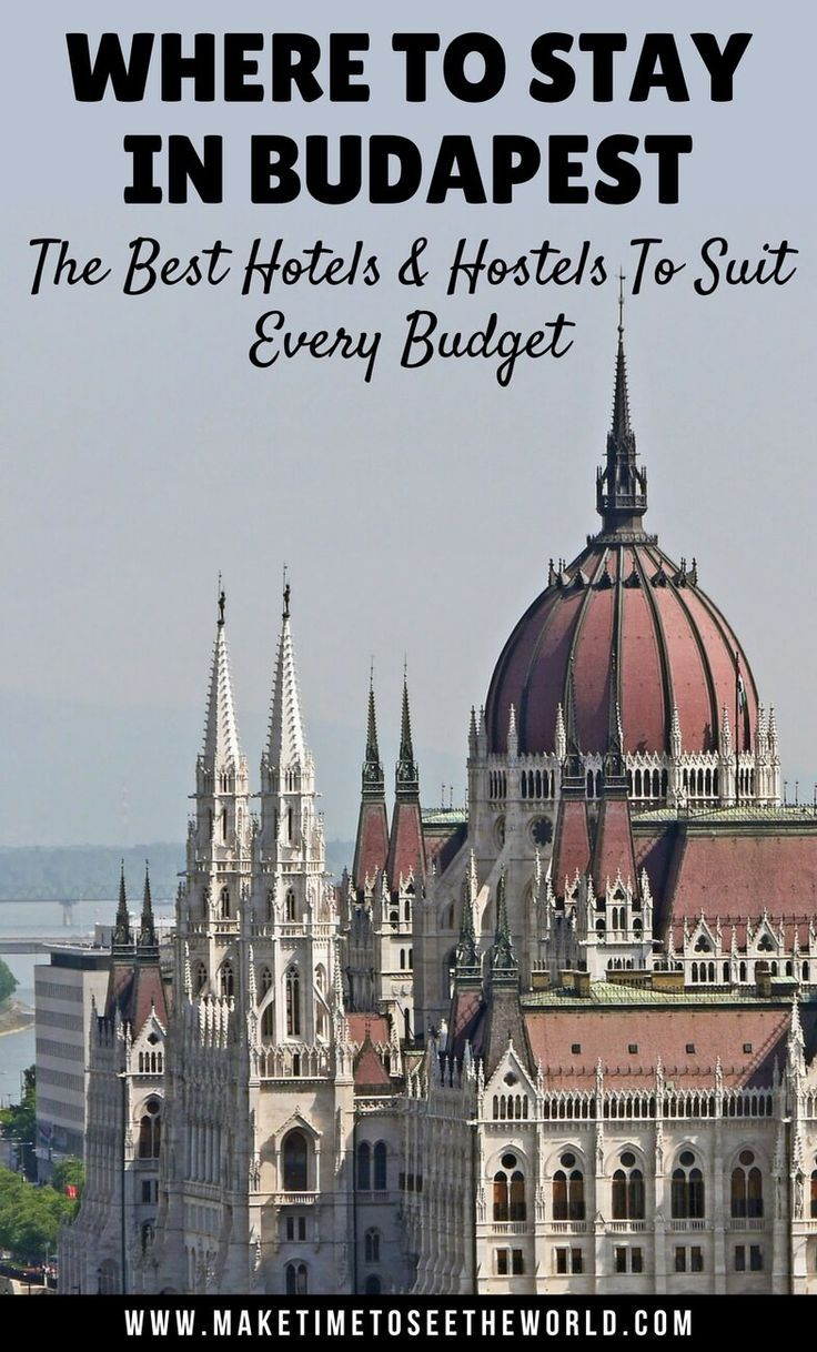 Where to Stay in Budapest: The Best Hotels and Hostels to suit every budget. Let us help you find the perfect place to stay for your city break in Budapest, Hungary