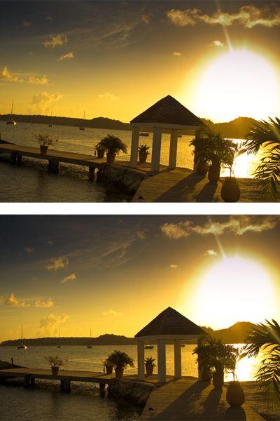 Het mooiste resultaat bereik je door de camera mee te bewegen met de lijnen in je beeld. Zorg bijvoorbeeld dat de horizon recht staat. Of draai je camera een paar graden om een lantaarnpaal recht te laten staan. #fotografietips
