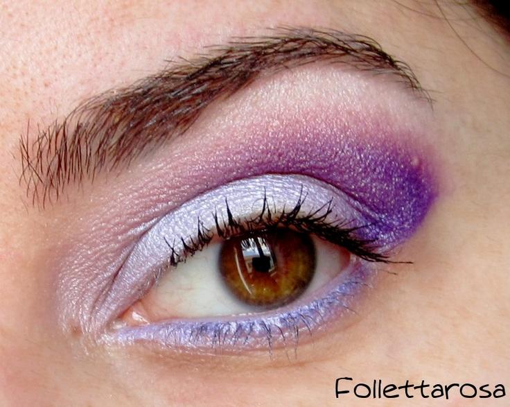 #Trucco occhi colorato e luminoso