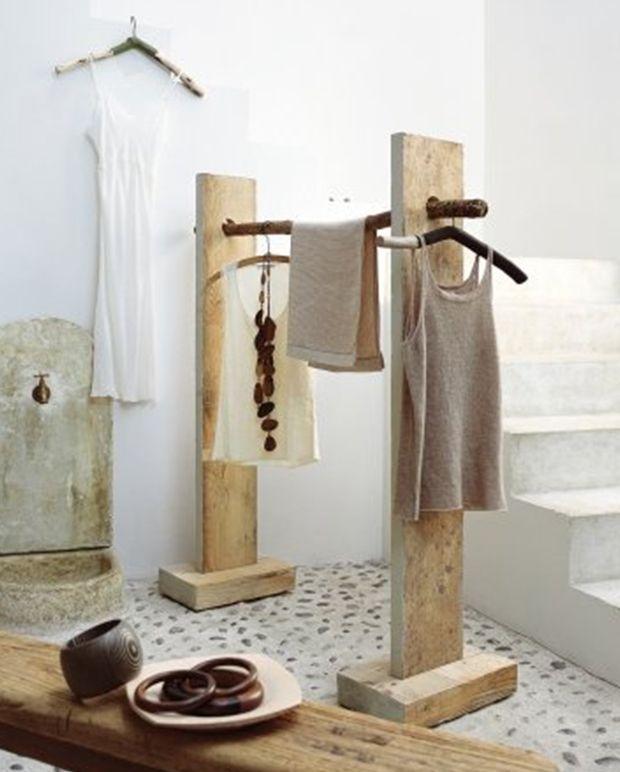 Напольная вешалка для одежды (47 фото)