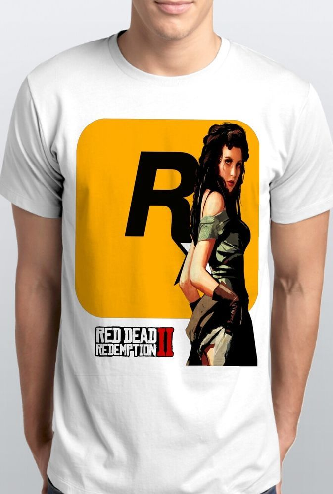 87a92b1990b Red Dead Redemption 2 T shirt smlxl2x3x Rockstar Games Red Dead Redemption   fashion  clothing  shoes  accessories  mensclothing  shirts (ebay link)