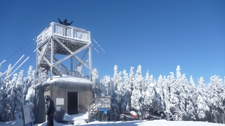Tour d'observation sur le massif du Sud