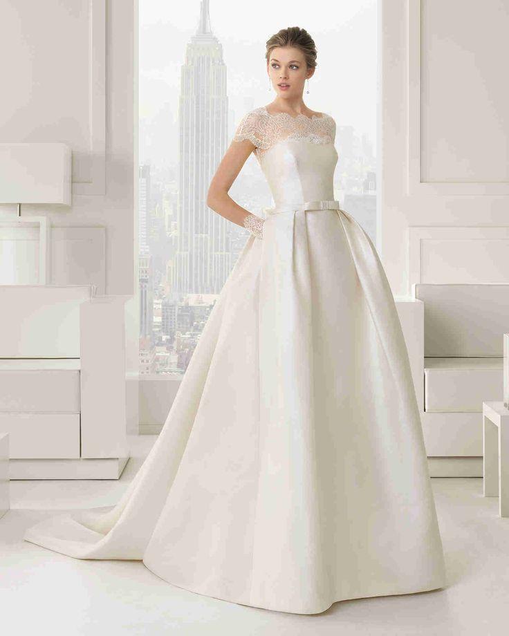 Dathybridal クラシック #イリュージョン ショートスリーブ ボールガウン 花嫁のドレス #ウェディングドレス Hro0112