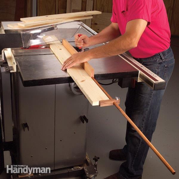 Make an Outrigger Stop Block | The Family Handyman