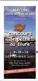 Pêche au silure les 19 et 20 septembre à Mâcon.
