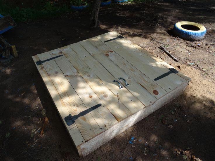 Песочник на детскую площадку