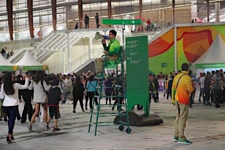 爆発騒ぎがあった競技場 :フォトニュース - リオ五輪・パラリンピック 2016:時事ドットコム