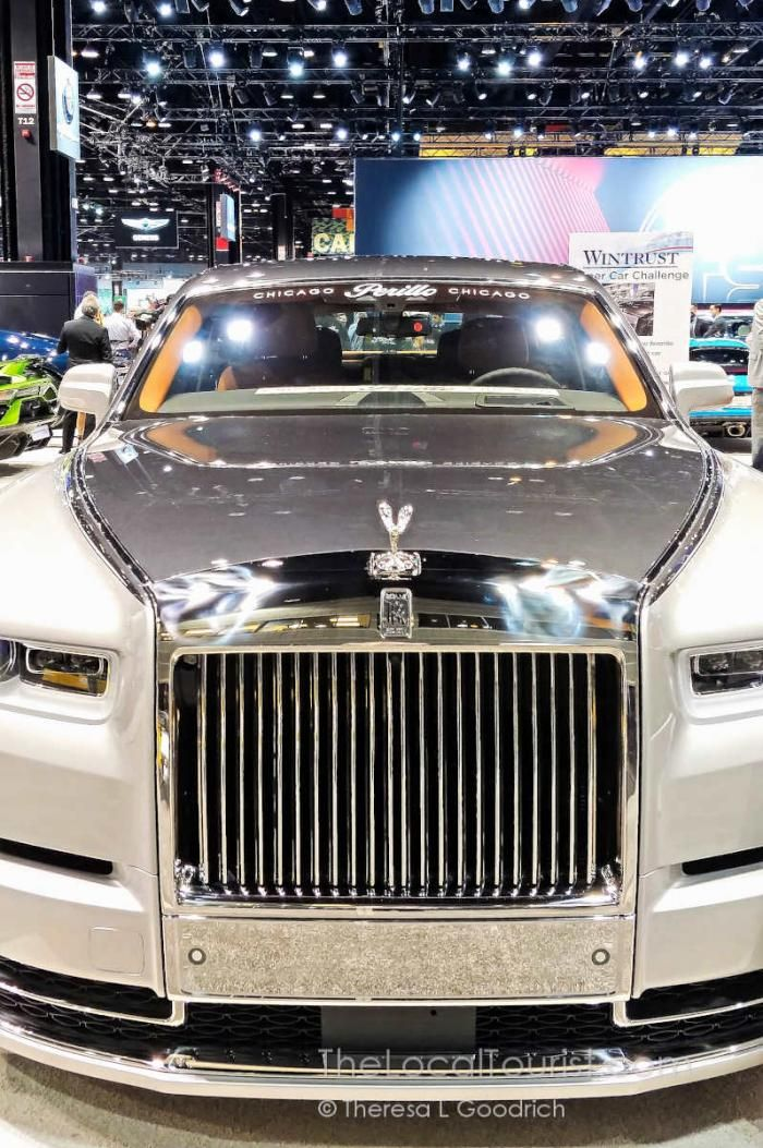 Puppies Legos And More At The 2019 Chicago Auto Show The Local Tourist Chicago Luxury Cars Rolls Royce Rolls Royce Royce