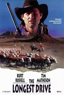 The Longest Drive is the syndication title for the network TV movie The Quest, which first aired May 13, 1976. Evidently inspired by John Ford's The Searchers, this western concerns the search by two brothers, Quentin and Morgan Baudine (Tim Matheson, Kurt Russell), for their sister, who as an infant was kidnaped by Indians. Morgan himself had spent time as an