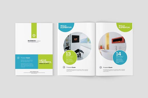 A5 Magazine / Brochure Mock-Ups by ToaSin on @creativemarket