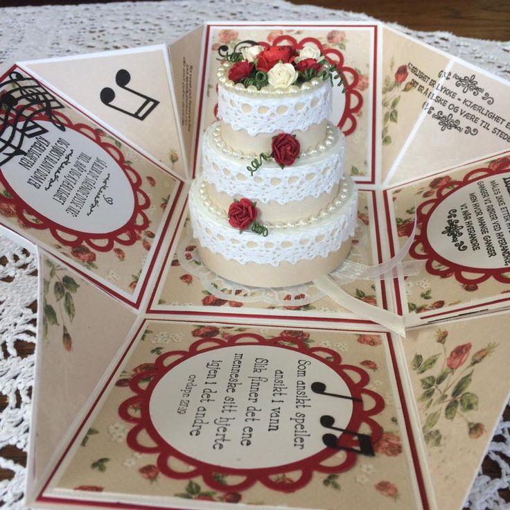 Bryllup 2016 - Eksplosjonsboks - inni