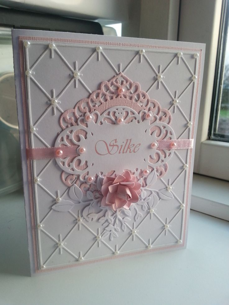 Homemade Card for Christening