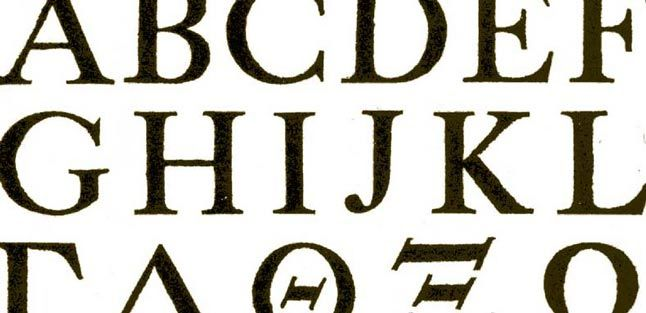 the fonts and typography blog