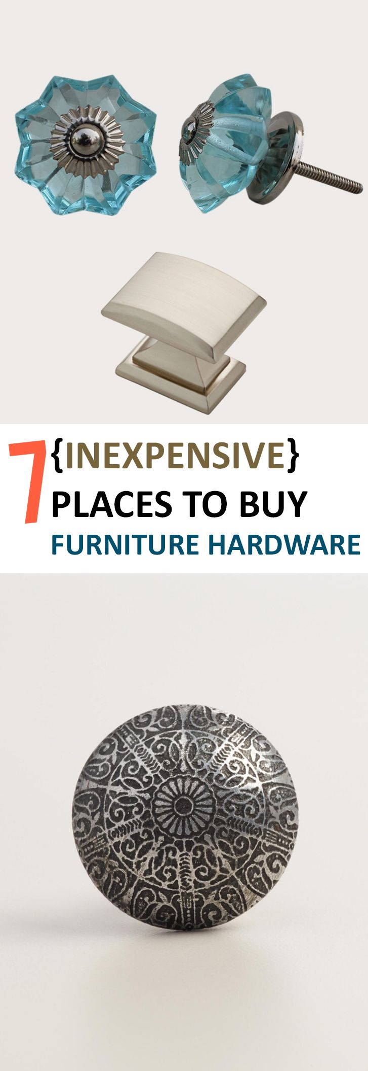 Furniture hardware, purchasing furniture hardware, furniture, popular pin, furniture remodel, remodeling furniture, thrift store furniture hacks, shopping tips and tricks.