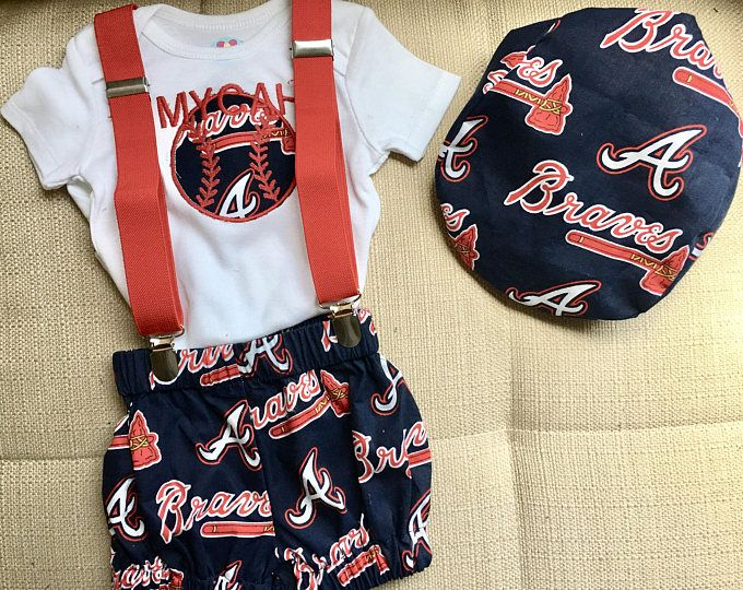 Sports theme baby smash set Atlanta Braves NBA  NFL MLB baby smash outfit Ncaa baby smash set sports team baby smash set team set