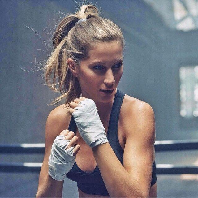 Resultado de imaxes para top models boxing gisele bindchen